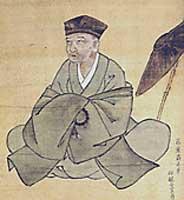 Matsuo Munefusa, dit Bashô (1644 ~ 1694), maître japonais du haïku